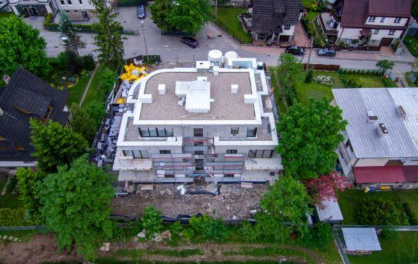 Instalacja elektryczna w budynku usługowym w Zakopanem