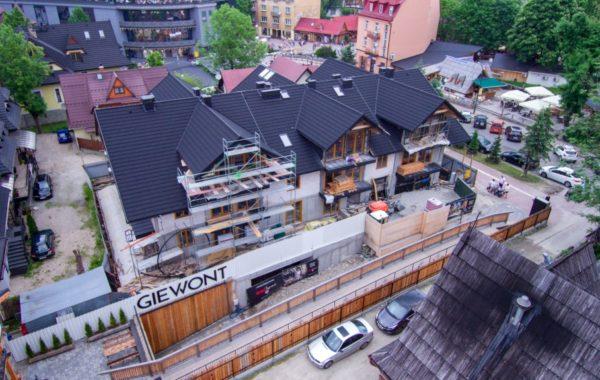 Instalacja elektryczna w budynku mieszkalno-usługowym w Zakopanem