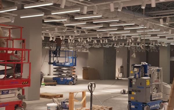Instalacja elektryczna w sklepie – Galeria Janki